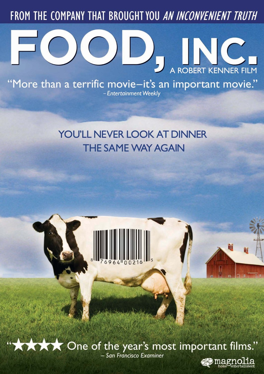 One of The Best Healthy Food Movie:Food, Inc. (2009)