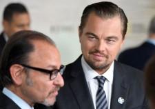 Fisher Stevens &Leonardo DiCaprio