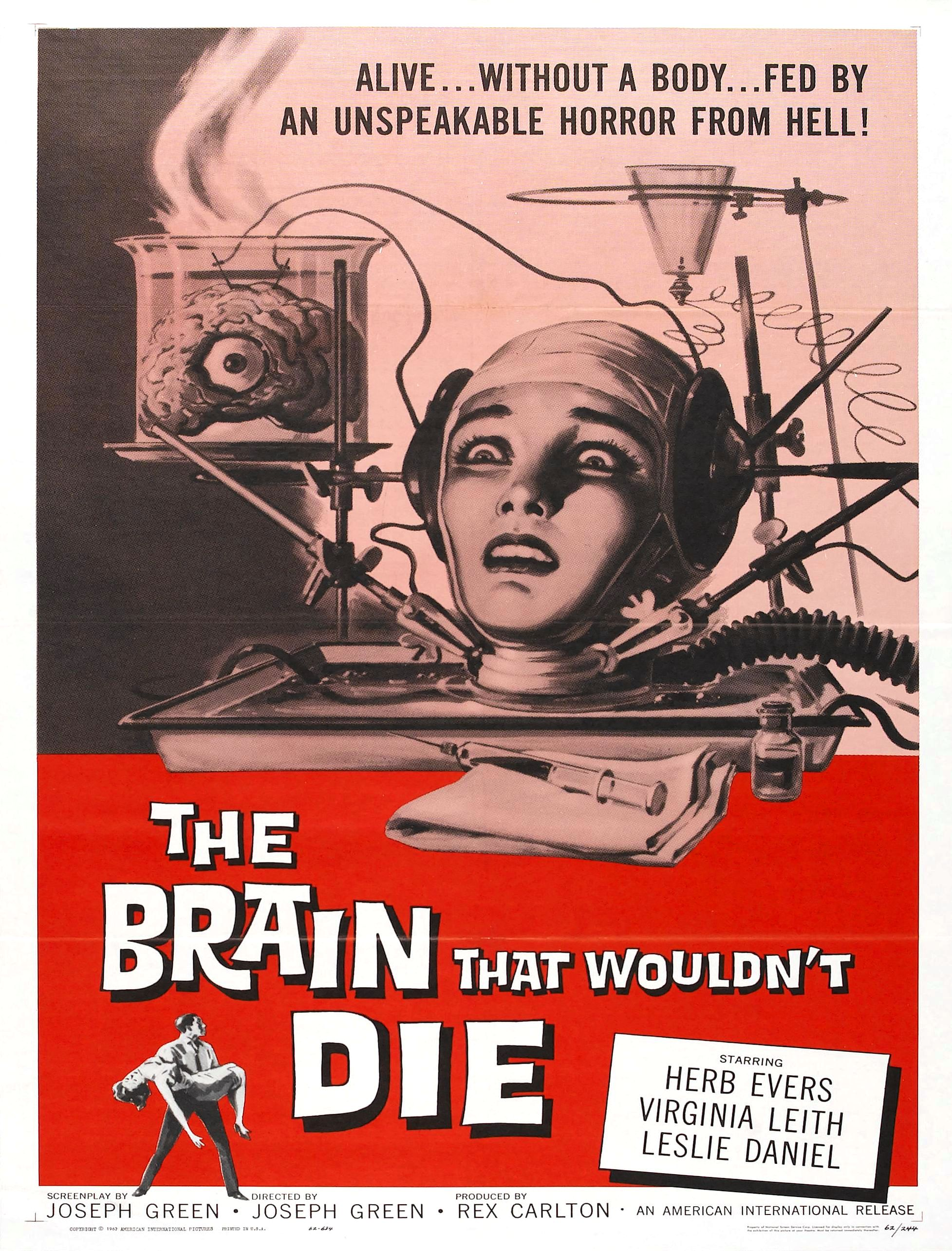 Movie Review: The Brain That Wouldn't Die